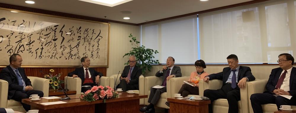 本會理監事拜訪澳門中華總商會